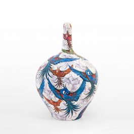 ARTIST Saim Kolhan Bottle with bird figures ;55;35