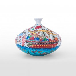 ARTIST Saim Kolhan Bottle with miniature ;28;35
