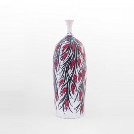 DECORATIVE ITEM & OBJECTS Bottle with tulips in contemporary style ;60;24