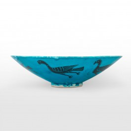 Bowl with bird figures ;15;51 - FIGURE & FIGURINE  $i