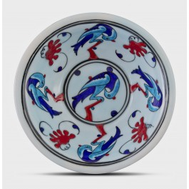 Bowl with birds ;6;17;;; - MINIATURE  $i