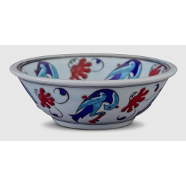 BOWL Bowl with birds ;6;17;;;