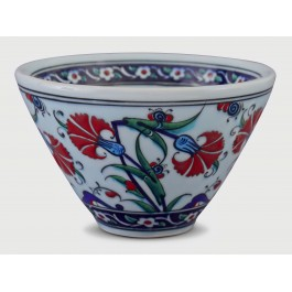 BOWL Bowl with carnation pattern ;11;18;;;