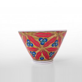 FLORAL Bowl with chintemani pattern ;10;15