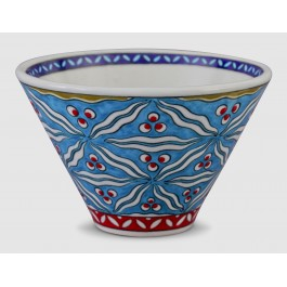 GEOMETRIC Bowl with Cintemani pattern ;11;18;;;