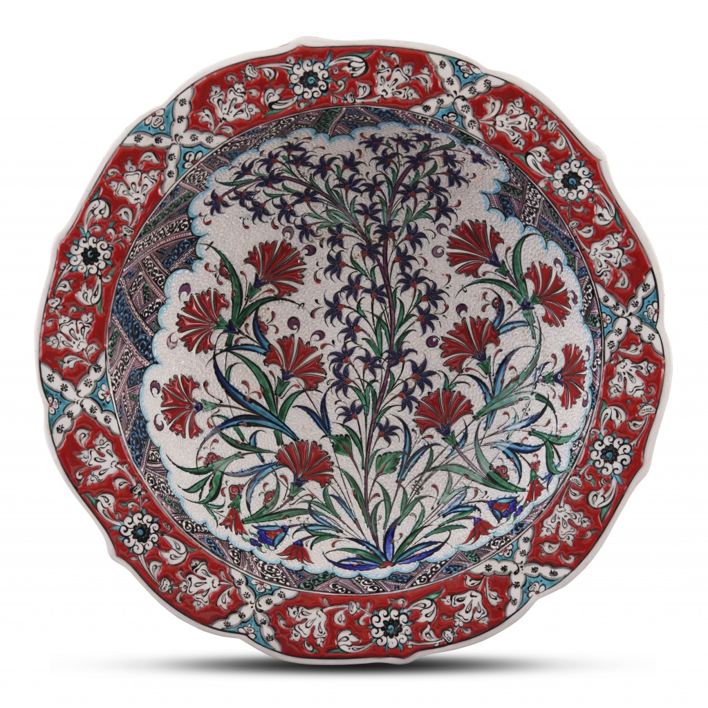 Bowl with floral pattern ;10;40;;; - FLORAL