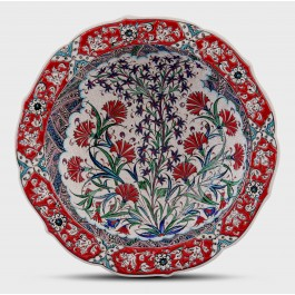 BOWL Bowl with floral pattern ;10;40;;;