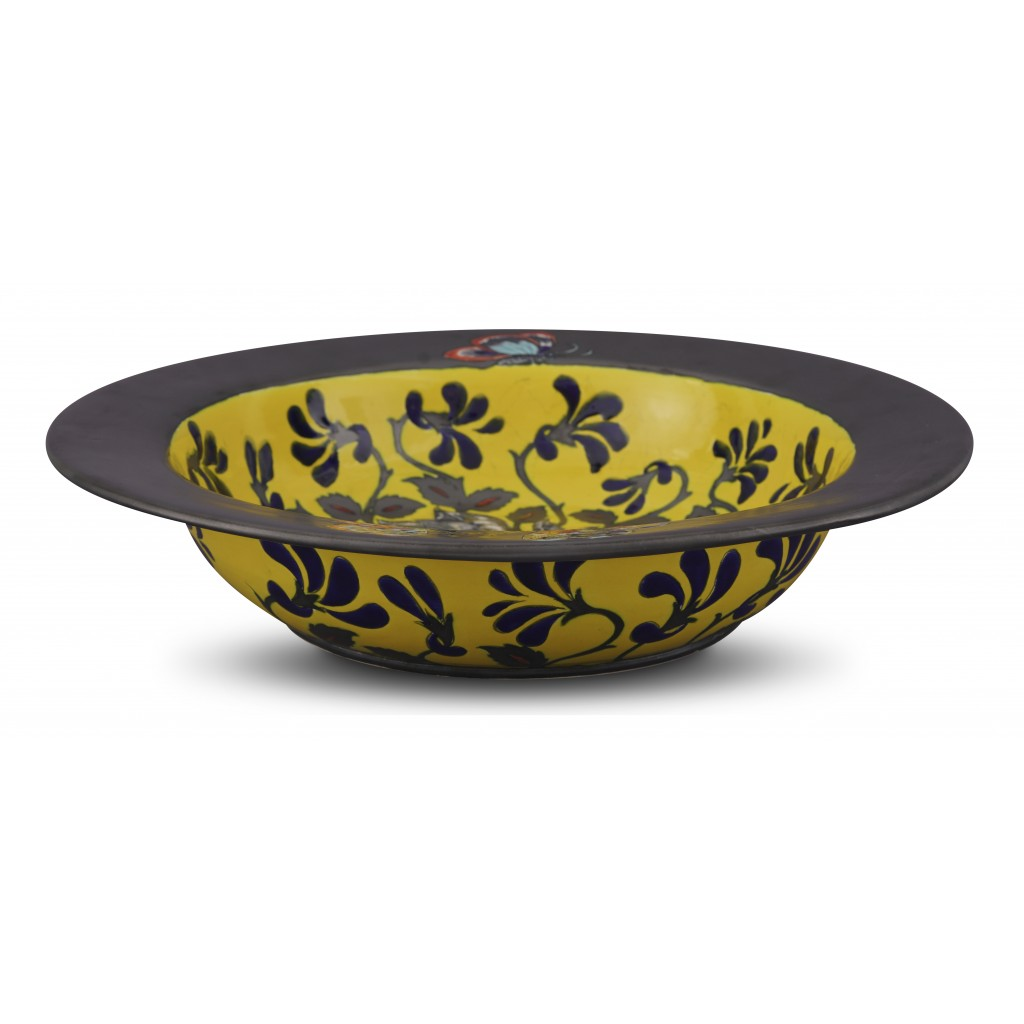 Bowl with floral pattern ;10;47;;; - FLORAL