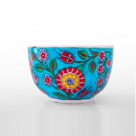 FLORAL Bowl with floral pattern ;11;17;;;