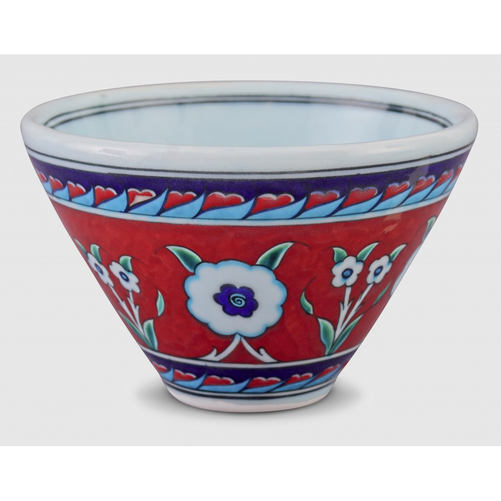 Bowl with floral pattern ;11;18;;; - BOWL