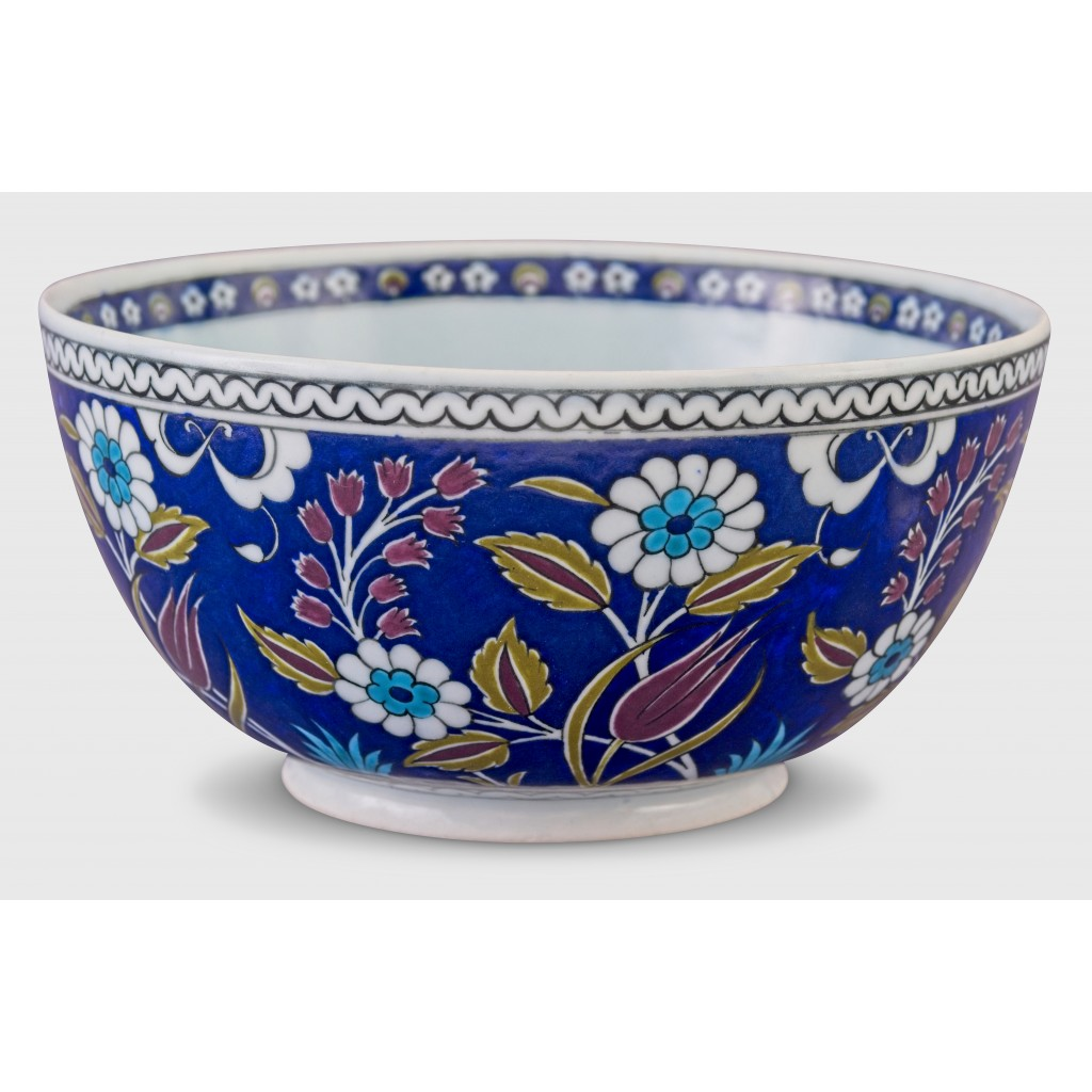 Bowl with floral pattern ;11;23;;; - FLORAL