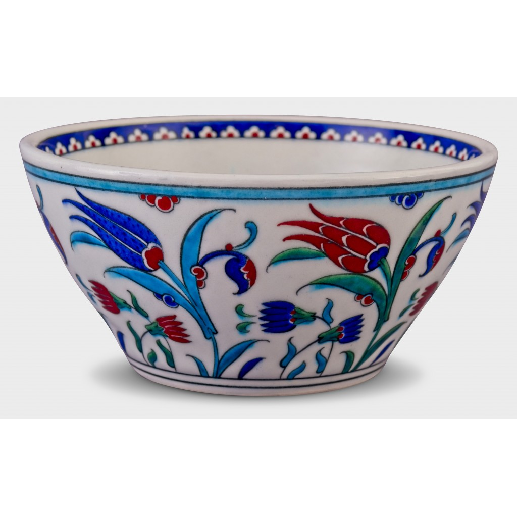 Bowl with floral pattern ;11;23;;; - BOWL