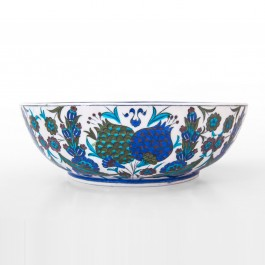 FLORAL Bowl with floral pattern ;11;31