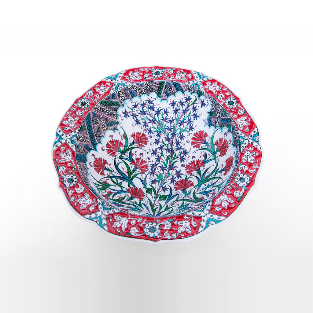 Bowl with floral pattern ;11;40 - FLORAL