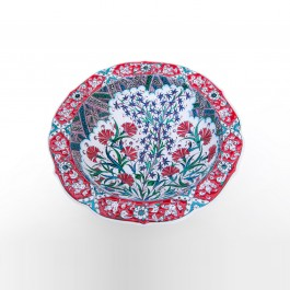 ARTIST Saim Kolhan Bowl with floral pattern ;11;40