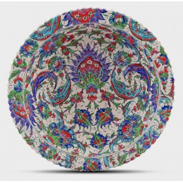 BOWL Bowl with floral pattern ;14;43;;;