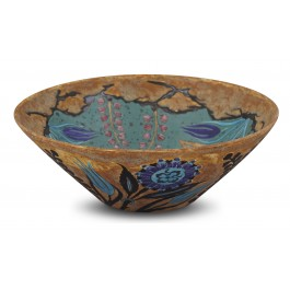 CONTEMPORARY Bowl with floral pattern ;15;42;;;