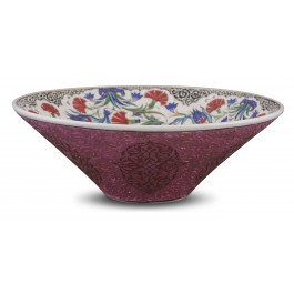 Bowl with floral pattern ;15;42;;; - BOWL  $i