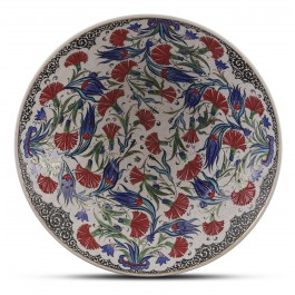 FLORAL Bowl with floral pattern ;15;42;;;