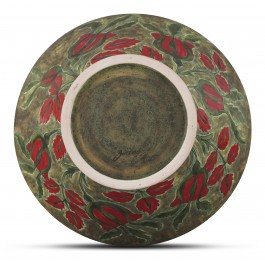 Bowl with floral pattern ;16;33;;; - CONTEMPORARY  $i