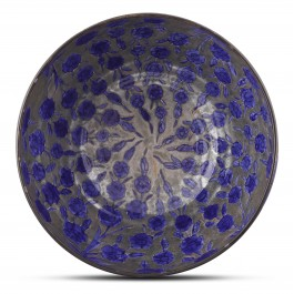 Bowl with floral pattern ;24;46;;; - CONTEMPORARY  $i