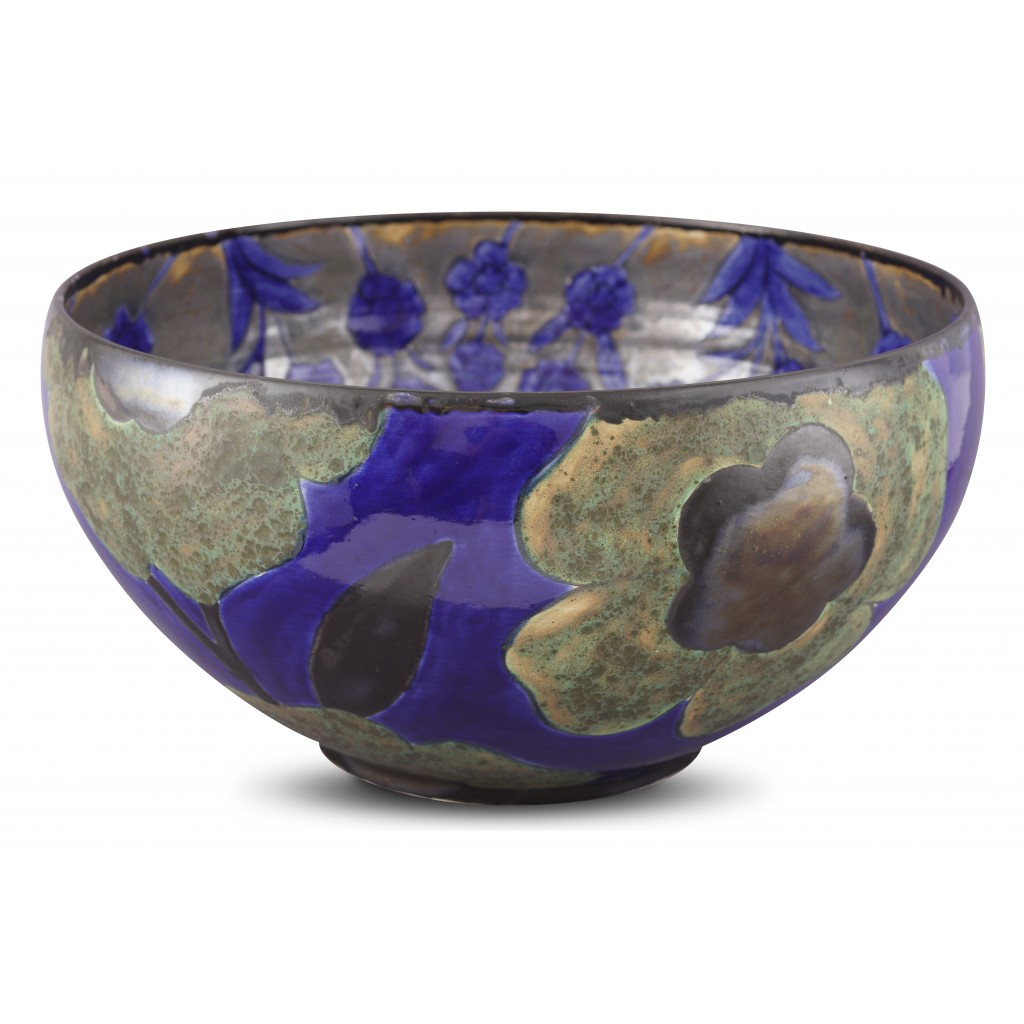 Bowl with floral pattern ;24;46;;; - CONTEMPORARY