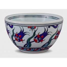 BOWL Bowl with floral pattern ;8;14;;;