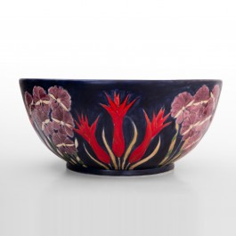 FLORAL Bowl with flowers in contemporary style ;19;41