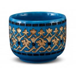 GEOMETRIC Bowl with gold patterns ;9;11;;;
