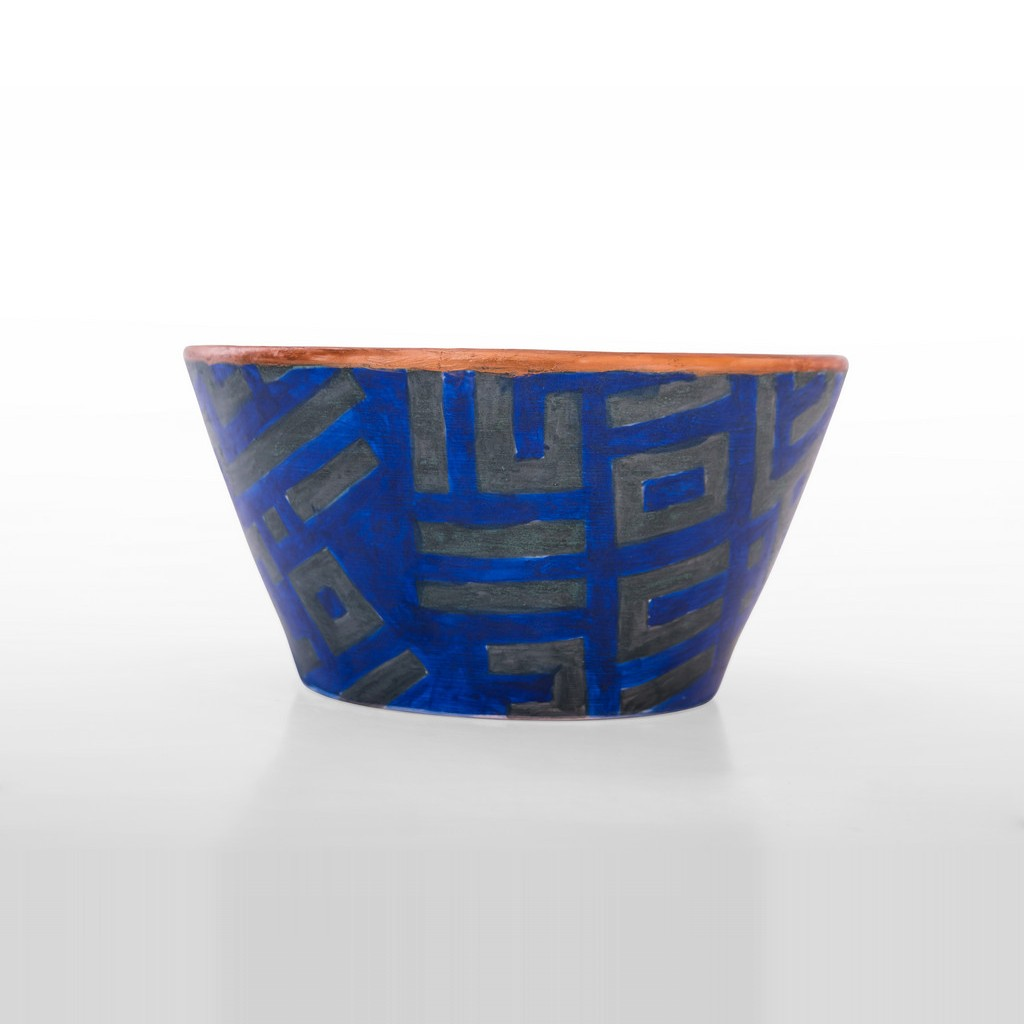 Bowl with kufic script ;11;22 - GEOMETRIC