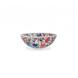 Bowl with leaves and flowers ;; - FLORAL  $i