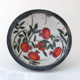 Bowl with pomegranates in contemporary style ;14;39 - BOWL  $i