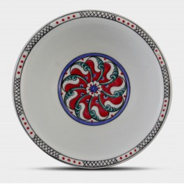 Bowl with Rumi pattern ;6;17;;; - BOWL  $i