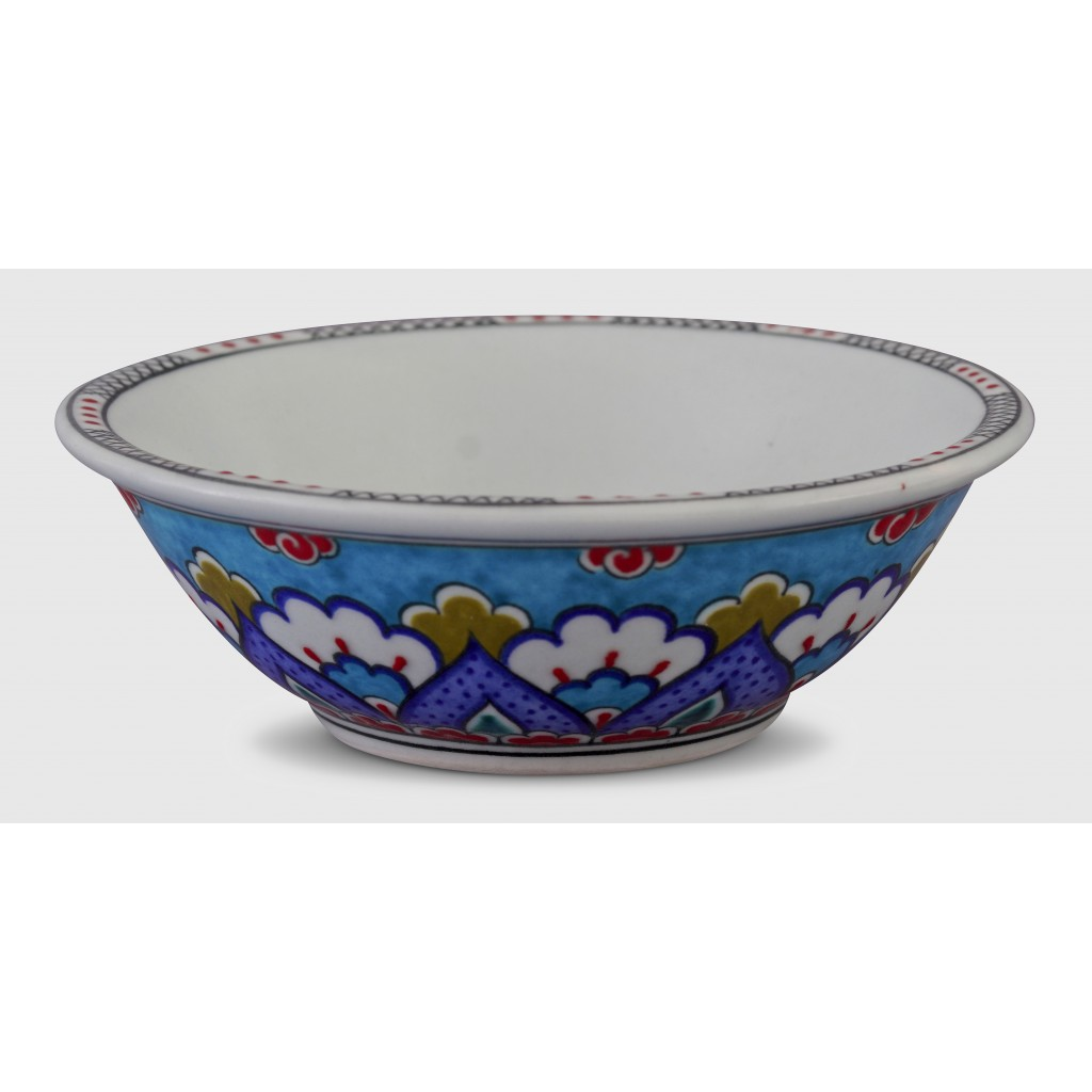Bowl with Rumi pattern ;6;17;;; - BOWL