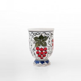 FLORAL Cup with vines and leaves ;10;8