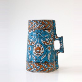 FLORAL Cylindrical tankard with hatai and rumi pattern ;23;12