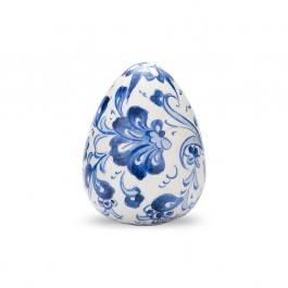 DECORATIVE ITEM & OBJECTS Decorative egg with floral design ;8;;;;