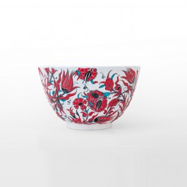 Deep bowl leaves and floral pattern ;18;30 - FLORAL  $i