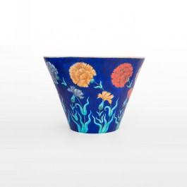 FLORAL Deep bowl with flowers in contemporary style ;30;41