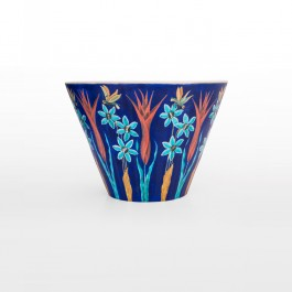 Deep bowl with flowers in contemporary style ;30;41 - FLORAL  $i