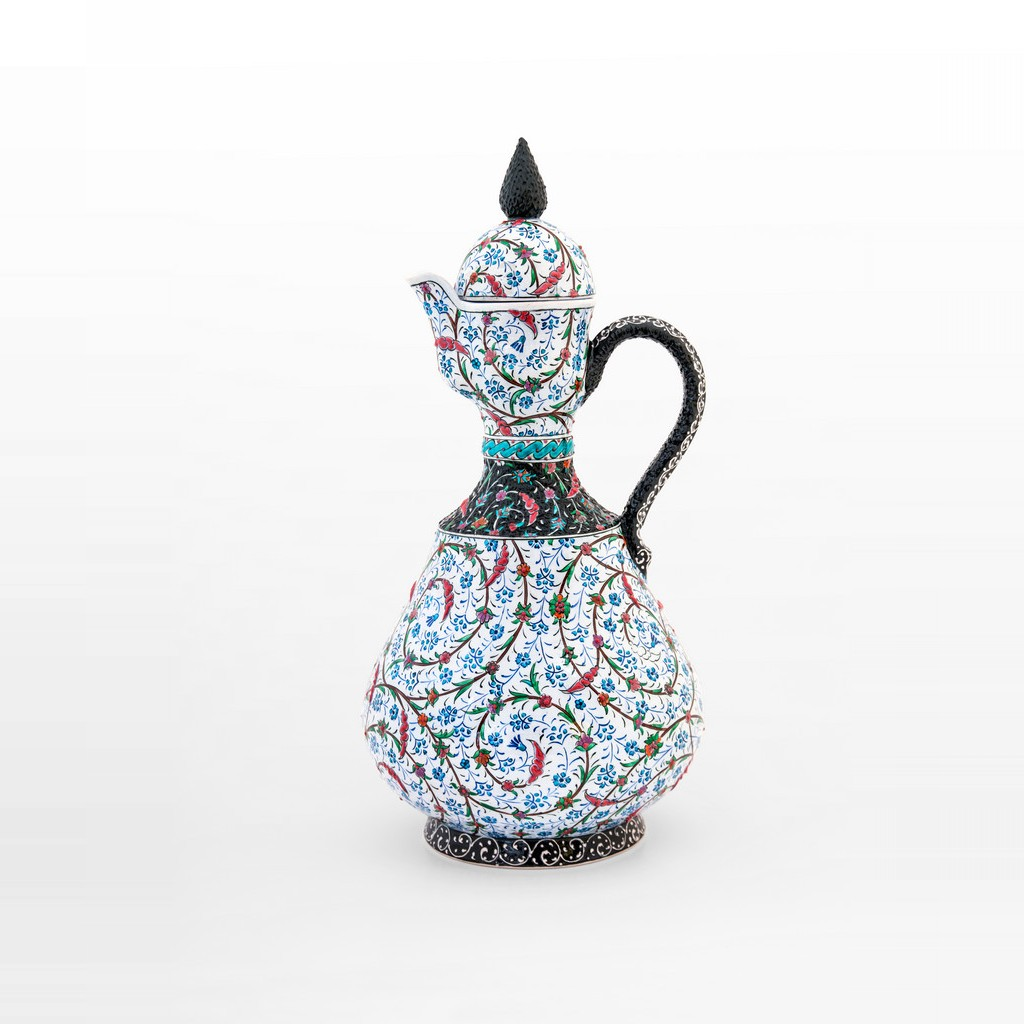 Ewer with contemporary tugrakesh pattern ;43;22 - JUG