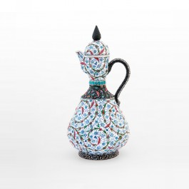 ARTIST Saim Kolhan Ewer with contemporary tugrakesh pattern ;43;22