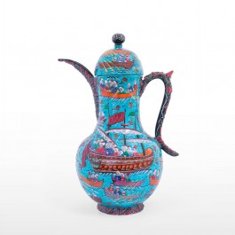 ARTIST Saim Kolhan Ewer with miniature ;65;42