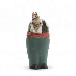 RAKU Fat tough guy figurine Figure;21,5;10;;;