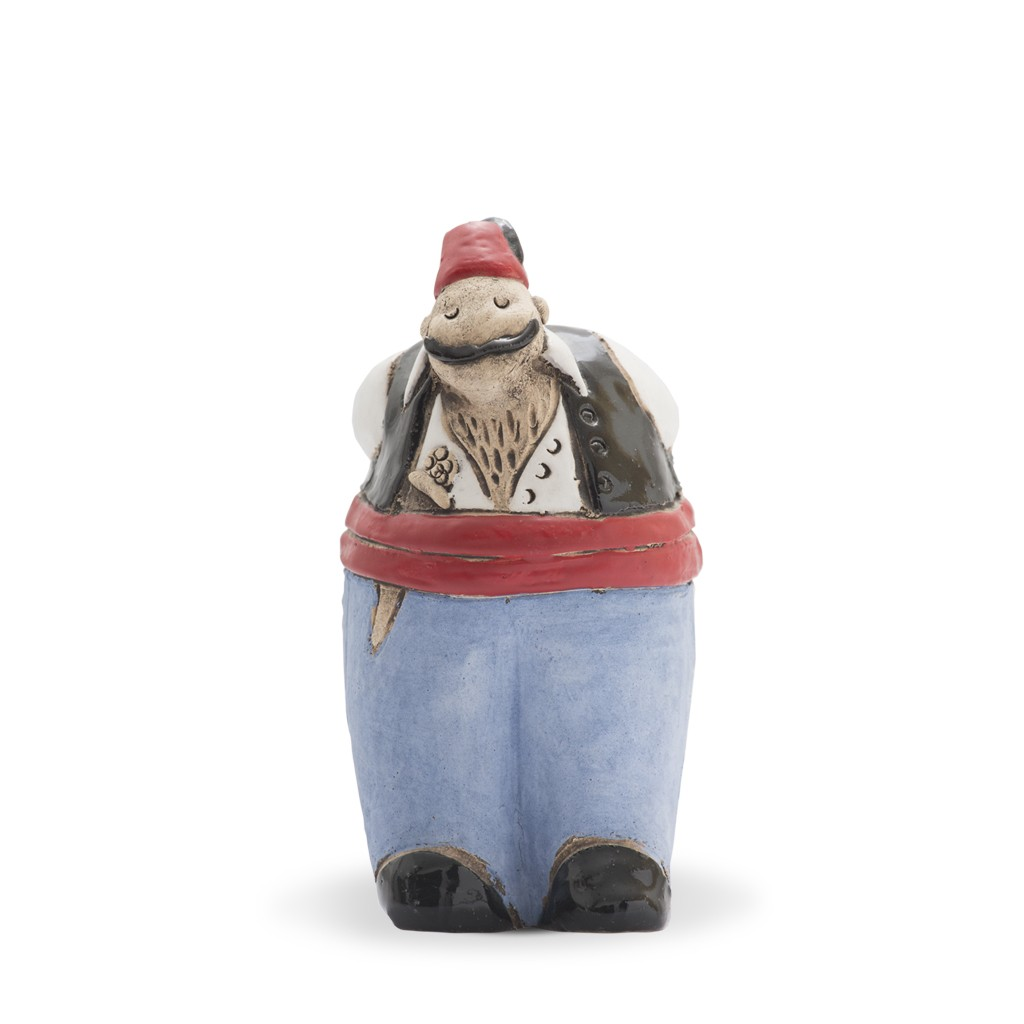 Fat tough guy figurine Figurine;17;9;;; - ARTIST Saliha Kartal