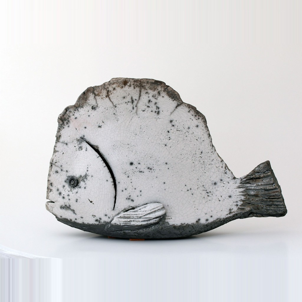 Fish figurine ;28;42;;; - CONTEMPORARY