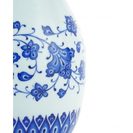Floral vase with chain pattern rim ;23;12;;; - VASE  $i