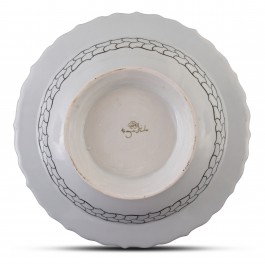 Footed bowl with floral pattern ;12;41;;; - BOWL  $i