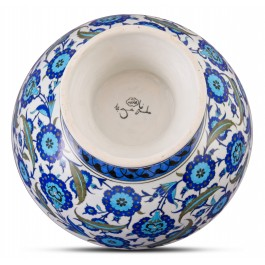 Footed bowl with floral pattern ;30;43;;; - FLORAL  $i