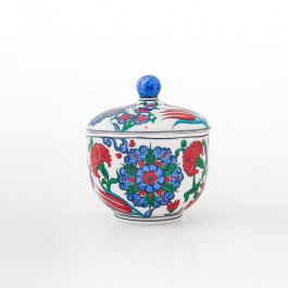 FLORAL Jar saz leaves and floral pattern ;14;12